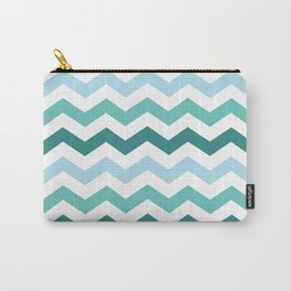 Chevron forest Carry-All Pouch