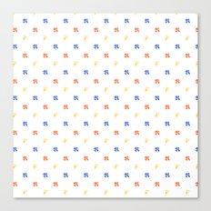 Resistenza's Pattern Canvas Print
