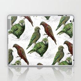 Three native parrots of New Zealand Laptop & iPad Skin