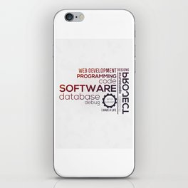 Programmer: Typography Programming - Color iPhone Skin