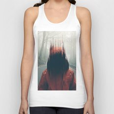 Face into the Abyss Unisex Tank Top