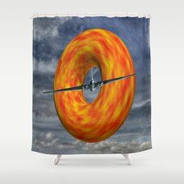 Donut Slice  Shower Curtain