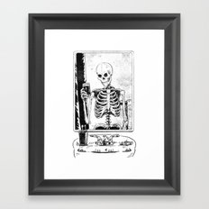 Skelfie Framed Art Print