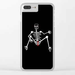 Skeleton Toto Male Clear iPhone Case
