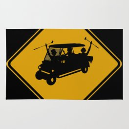 Party Cart Crossing Rug