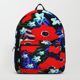 Poppies & Columbines Backpack