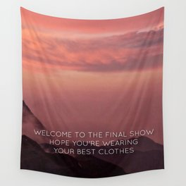 Harry Styles - Sign of the times Wall Tapestry