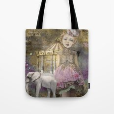 The life of a girl in the circus. Tote Bag