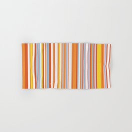 Stripe obsession color mode #4 Hand & Bath Towel