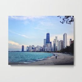 Lake Shore Metal Print