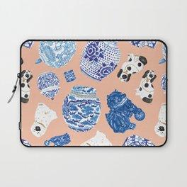 Chinoiserie Curiosity Cabinet Toss 1 Laptop Sleeve