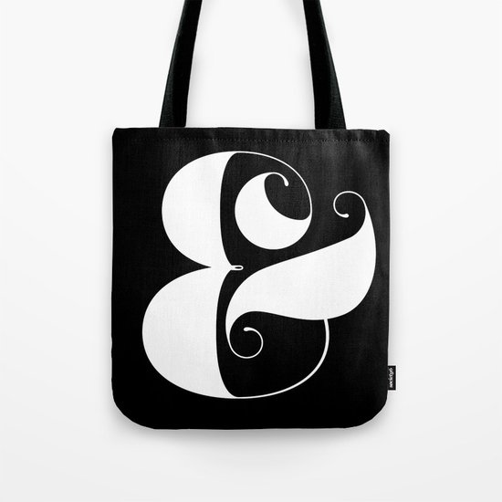 Inverse Ampersand Tote Bag