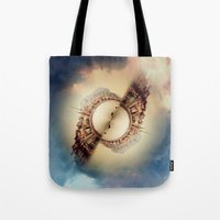 budapest Tote Bags featuring Budapest by Petra Heitler