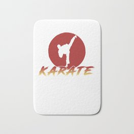 Karate Fighting Present Gift Self Defense Bath Mat
