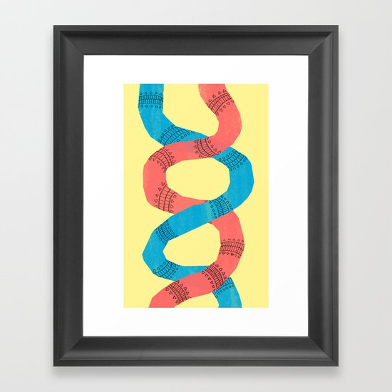 twins. Framed Art Print