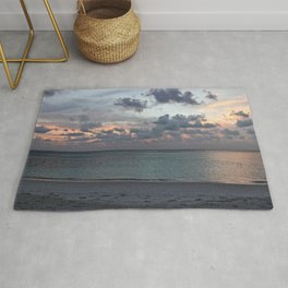 Sunset in the Maldives Rug