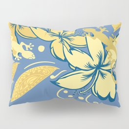 Samoan Orchid Sunset Polynesian Floral Pillow Sham