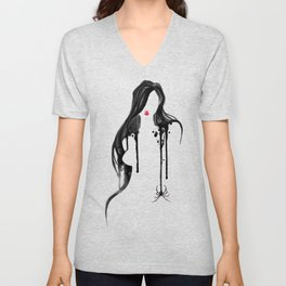 Spider's Kiss II Unisex V-Neck