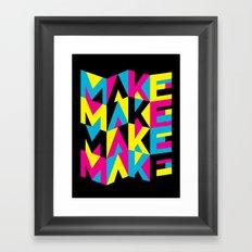 MYCK Framed Art Print