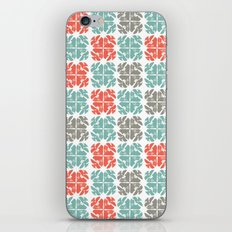 Block Print Geo iPhone & iPod Skin