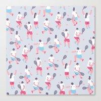 tennis Canvas Prints featuring Tennis by Sara Maese