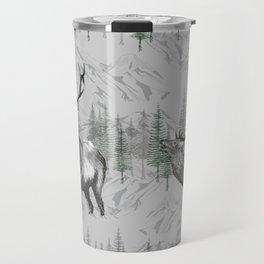 Highland Deer Travel Mug