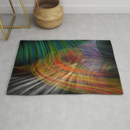 Abstracting coloring Rug