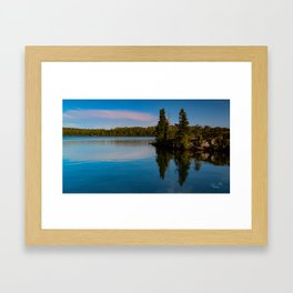 Moskey Basin Reflection Framed Art Print