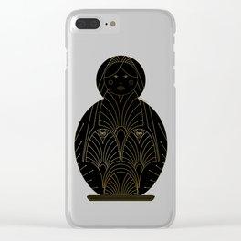 babushka Clear iPhone Case