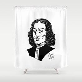 Antonio Vivaldi Shower Curtain