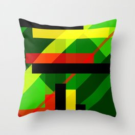 Directionally Challenged Throw Pillow