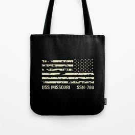 USS Missouri Tote Bag