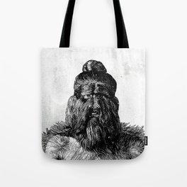 Hairy man Tote Bag