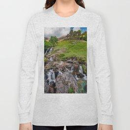 Watkin Waterfall Snowdonia Long Sleeve T-shirt