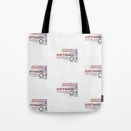 Programmer: Typography Programming - Color Tote Bag