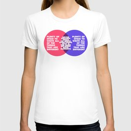 The Problem With Venn Diagrams T-shirt