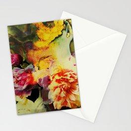 chromo roses Stationery Cards