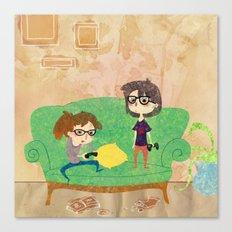 Eyeglasses Canvas Print