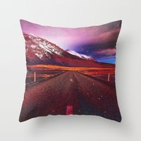 verse Throw Pillows featuring Verse II by Daniel Montero