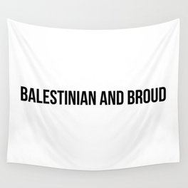 Proud x Black Wall Tapestry