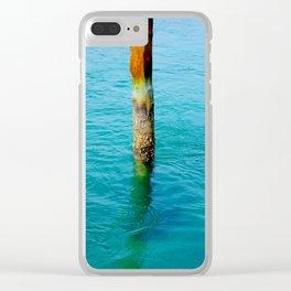 Dock Pylon Clear iPhone Case