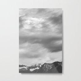 Little Mountain, Big Sky Metal Print