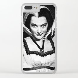 Lily Munster Clear iPhone Case