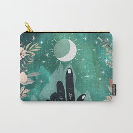 Alchemy hand and moon Carry-All Pouch
