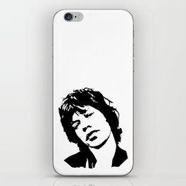 GIFTS OF A ROCK N ROLL AND MOVIE SUPERSTAR ARTIST AND DIVA GIFT WRAPPED FOR YOU FROM MONOFACES iPhone Skin