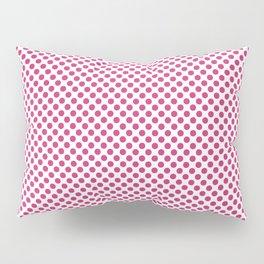 Pink Yarrow Polka Dots Pillow Sham