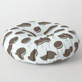 Double biscuits Floor Pillow