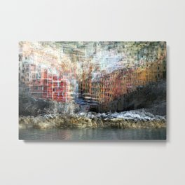 All About Italy. Piece 17 - Riomaggiore Essence Metal Print