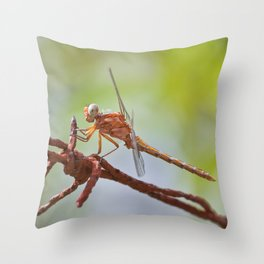 Nature in pastel shades Throw Pillow
