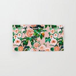 Pink garden Hand & Bath Towel
